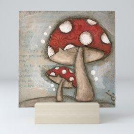 Mushrooms - by Diane Duda Mini Art Print