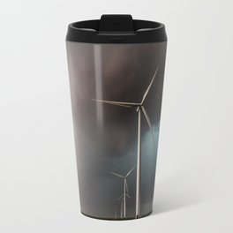 Wind Farm - Renewable Energy on the Texas Plains Travel Mug