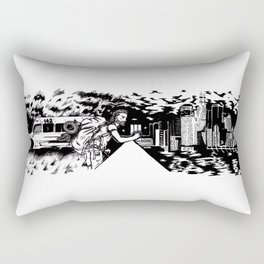 Between The Wild Rectangular Pillow