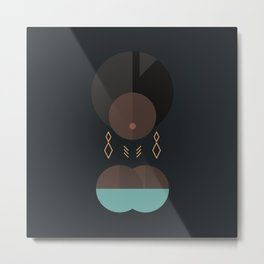 BLACK MAGIC WOMEN / Adero Metal Print