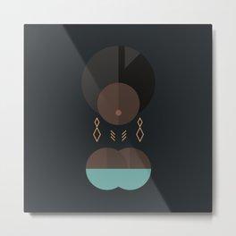 BLACK MAGIC WOMEN / Adero Metal Print
