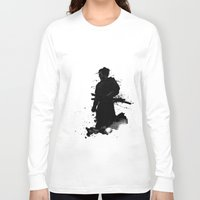 samurai Long Sleeve T-shirts featuring Samurai by Nicklas Gustafsson