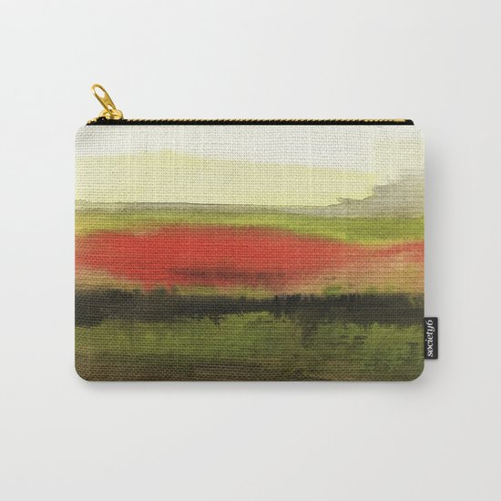 Watercolor abstract landscape 18 Carry-All Pouch