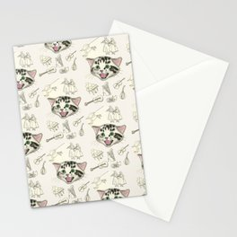 The Soloist - Singing Kitten Stationery Cards