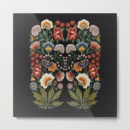 Plant a garden Metal Print