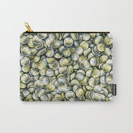 Euro coins / Show me the money Carry-All Pouch