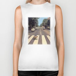 Why did the chicken cross THE road? Biker Tank