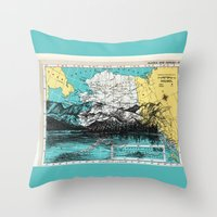 alaska Throw Pillows featuring Alaska by Ursula Rodgers