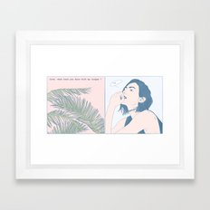 Love, What Have You Done ? Framed Art Print