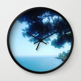 Summer Shade at Cap Martin Wall Clock