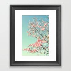 Spring Kissing the Sky Framed Art Print