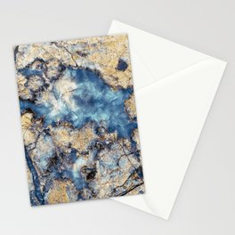Crystal Marble Stationery Cards