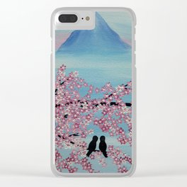 love in japan Clear iPhone Case
