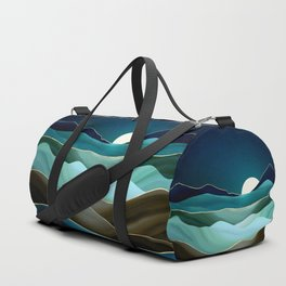 Moonlit Vista Duffle Bag