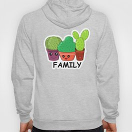 Hilarious family of cacti. Baby and kids style Hoody