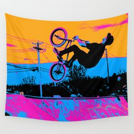 BMX Back-Flip Wall Tapestry
