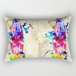 Coca-Cola Grunge Rectangular Pillow