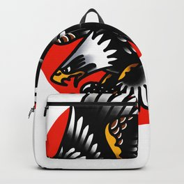 American traditional eagle Backpack