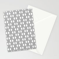 Aelbrecht Grey Pattern Stationery Cards