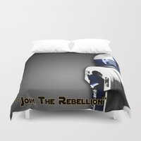 r2d2 Duvet Covers featuring R2D2 by KL Design Solutions