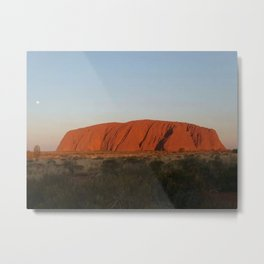 Red centre Metal Print