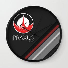 Praxus Lines Wall Clock