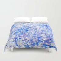 splatter Duvet Covers featuring splatter by From Roxy
