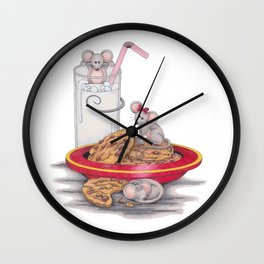 Merry ChristMOUSE!!! Wall Clock