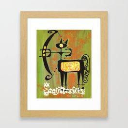 Sagittarius Print Framed Art Print