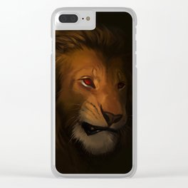 Your Majesty Clear iPhone Case