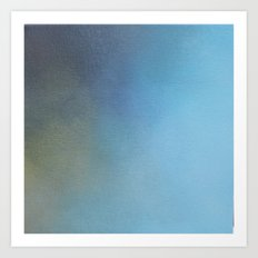 Azure Light Art Print