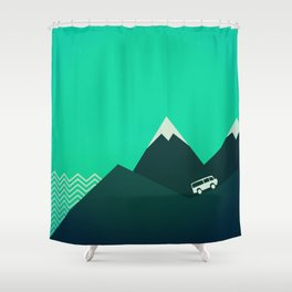 Travel! Shower Curtain