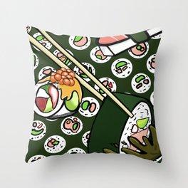Happy to Sashimi? Throw Pillow