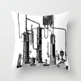 Brockhaus-Efron Distillery 5 Throw Pillow