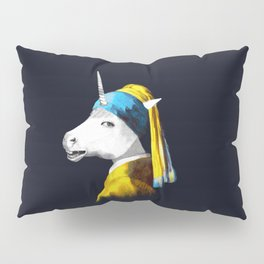 Cool Animal Art - Funny Unicorn Pillow Sham