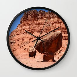 Marble Canyon Balanced Rock Wall Clock