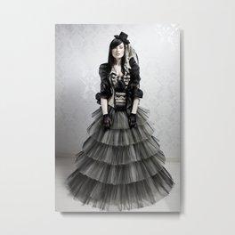 haute couture 3 Metal Print