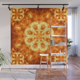 Inferno Mandala Wall Mural