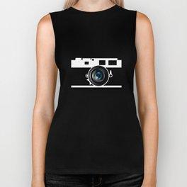 Camera Lens Biker Tank