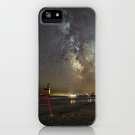 Lifeguard chair and the Milkyway iPhone Case