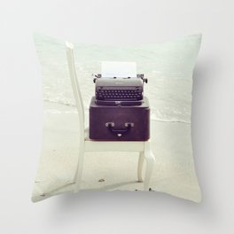 The Voice of the Sea. Throw Pillow