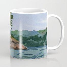 Trees Off The Coast of Vancouver Island Coffee Mug