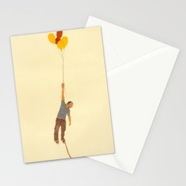attempt to fly Stationery Cards