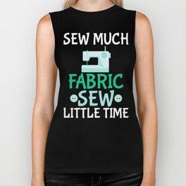 Sew Much Fabric, Sew Little Time Biker Tank