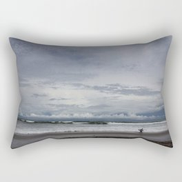 Costa Rican Surf Break Rectangular Pillow