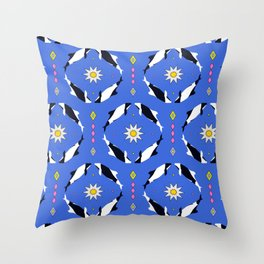 Las Toninas II Throw Pillow