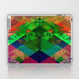 Beauty In Symmetry - Abstract, geometric, textured, symmetrical artwork Laptop & iPad Skin