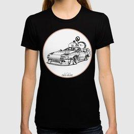 Crazy Car Art 0117 T-shirt