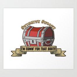 D&D - The Booty Art Print