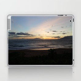Sunset off the edge of the world Laptop & iPad Skin